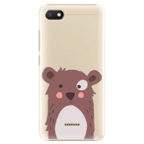 Plastové pouzdro iSaprio – Brown Bear – Xiaomi Redmi 6A Plastové pouzdro iSaprio – Brown Bear – Xiaomi Redmi 6A