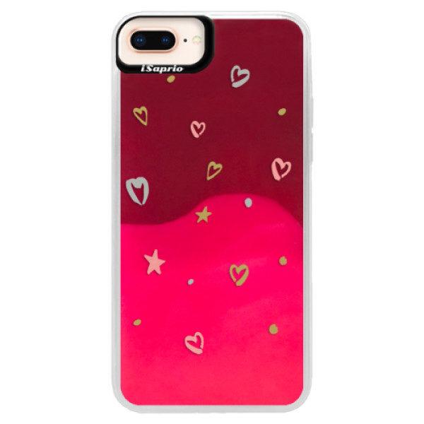 Neonové pouzdro Pink iSaprio – Lovely Pattern – iPhone 8 Plus Neonové pouzdro Pink iSaprio – Lovely Pattern – iPhone 8 Plus