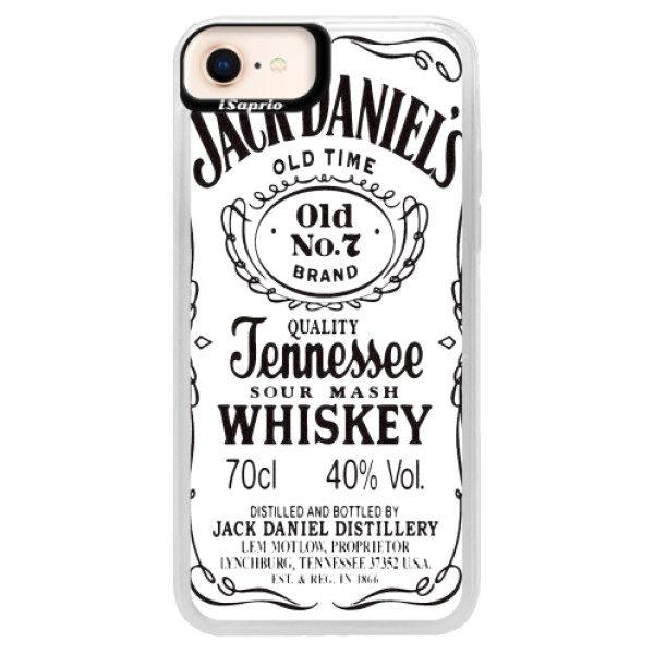 Neonové pouzdro Pink iSaprio – Jack White – iPhone 8 Neonové pouzdro Pink iSaprio – Jack White – iPhone 8