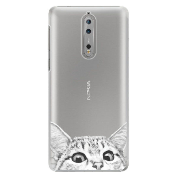 Plastové pouzdro iSaprio – Cat 02 – Nokia 8 Plastové pouzdro iSaprio – Cat 02 – Nokia 8