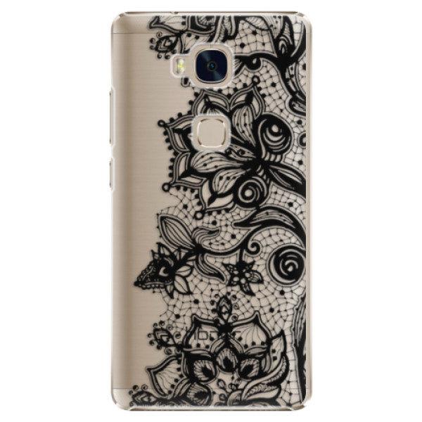 Plastové pouzdro iSaprio – Black Lace – Huawei Honor 5X Plastové pouzdro iSaprio – Black Lace – Huawei Honor 5X