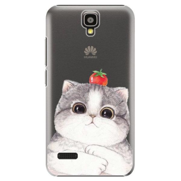 Plastové pouzdro iSaprio – Cat 03 – Huawei Ascend Y5 Plastové pouzdro iSaprio – Cat 03 – Huawei Ascend Y5