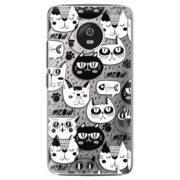 Plastové pouzdro iSaprio – Cat pattern 03 – Lenovo Moto G5 Plastové pouzdro iSaprio – Cat pattern 03 – Lenovo Moto G5
