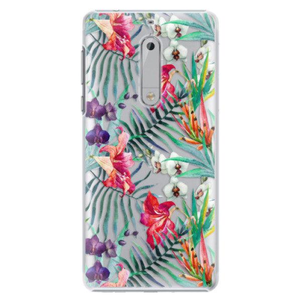 Plastové pouzdro iSaprio – Flower Pattern 03 – Nokia 5 Plastové pouzdro iSaprio – Flower Pattern 03 – Nokia 5