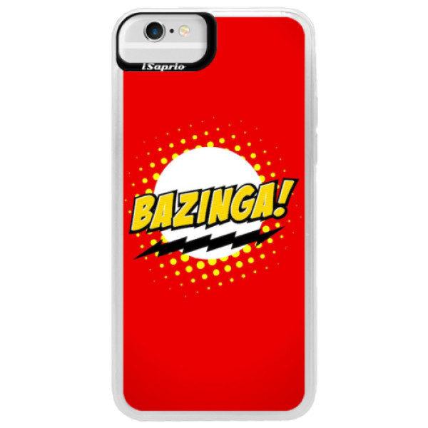 Neonové pouzdro Blue iSaprio – Bazinga 01 – iPhone 6/6S Neonové pouzdro Blue iSaprio – Bazinga 01 – iPhone 6/6S