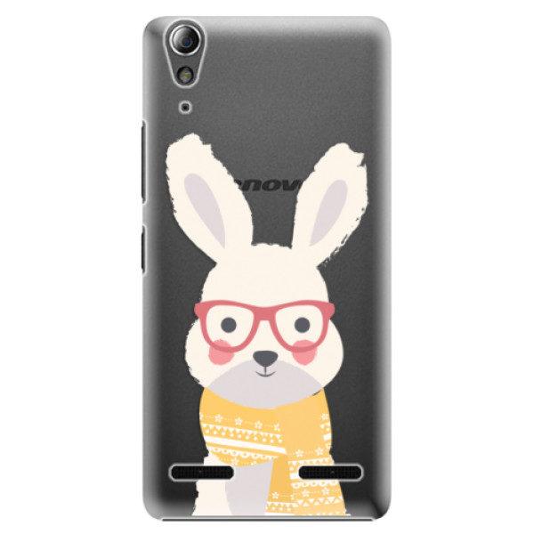 Plastové pouzdro iSaprio – Smart Rabbit – Lenovo A6000 / K3 Plastové pouzdro iSaprio – Smart Rabbit – Lenovo A6000 / K3