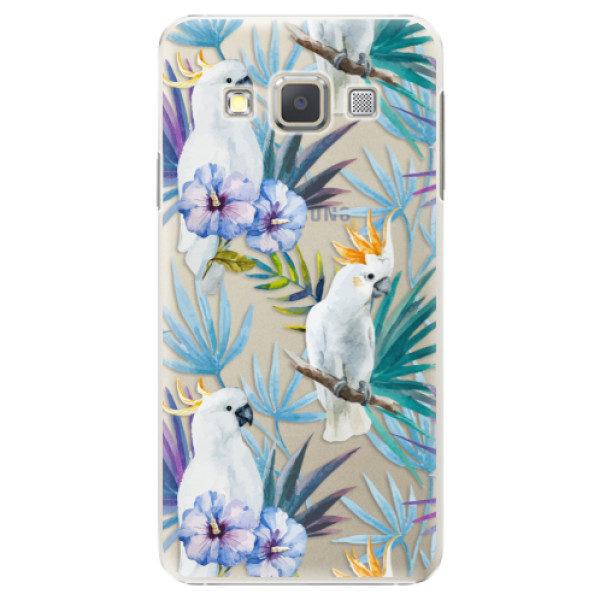 Plastové pouzdro iSaprio – Parrot Pattern 01 – Samsung Galaxy A7 Plastové pouzdro iSaprio – Parrot Pattern 01 – Samsung Galaxy A7
