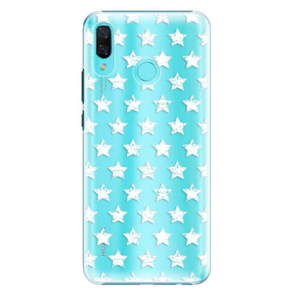 Plastové pouzdro iSaprio – Stars Pattern – white – Huawei Nova 3 Plastové pouzdro iSaprio – Stars Pattern – white – Huawei Nova 3