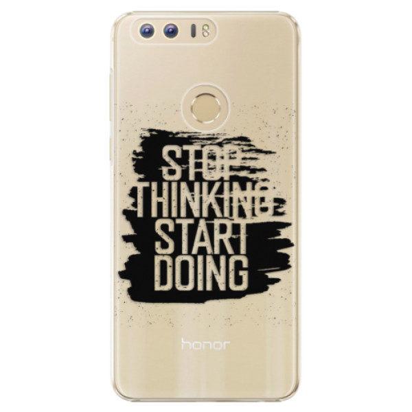 Plastové pouzdro iSaprio – Start Doing – black – Huawei Honor 8 Plastové pouzdro iSaprio – Start Doing – black – Huawei Honor 8