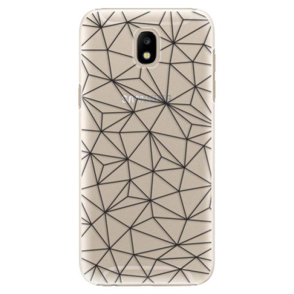 Plastové pouzdro iSaprio – Abstract Triangles 03 – black – Samsung Galaxy J5 2017 Plastové pouzdro iSaprio – Abstract Triangles 03 – black – Samsung Galaxy J5 2017