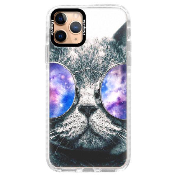 Silikonové pouzdro Bumper iSaprio – Galaxy Cat – iPhone 11 Pro Silikonové pouzdro Bumper iSaprio – Galaxy Cat – iPhone 11 Pro