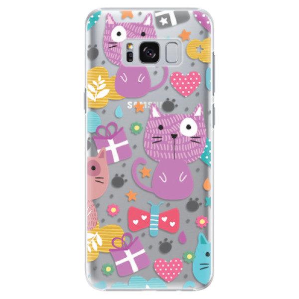 Plastové pouzdro iSaprio – Cat pattern 01 – Samsung Galaxy S8 Plus Plastové pouzdro iSaprio – Cat pattern 01 – Samsung Galaxy S8 Plus