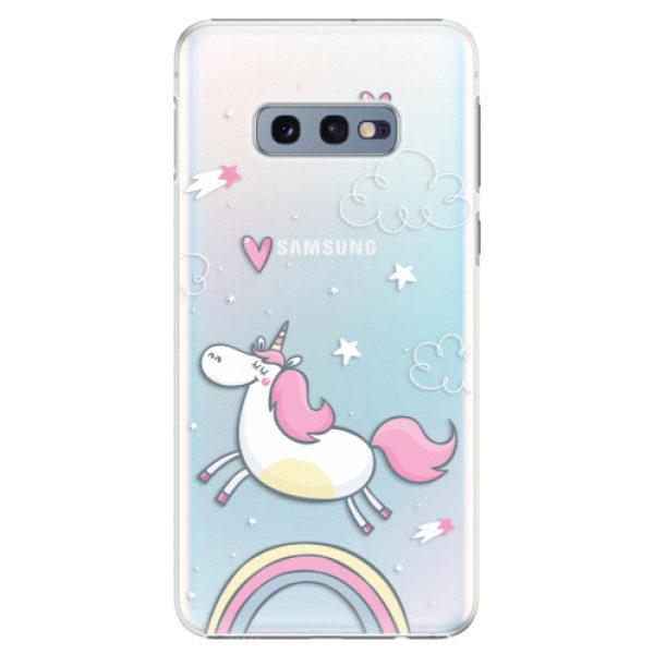 Plastové pouzdro iSaprio – Unicorn 01 – Samsung Galaxy S10e Plastové pouzdro iSaprio – Unicorn 01 – Samsung Galaxy S10e