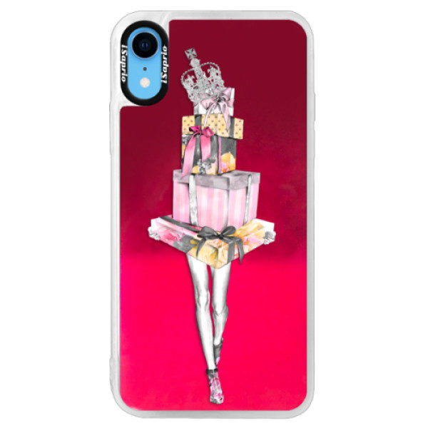 Neonové pouzdro Pink iSaprio – Queen of Shopping – iPhone XR Neonové pouzdro Pink iSaprio – Queen of Shopping – iPhone XR