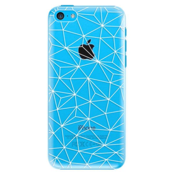 Plastové pouzdro iSaprio – Abstract Triangles 03 – white – iPhone 5C Plastové pouzdro iSaprio – Abstract Triangles 03 – white – iPhone 5C