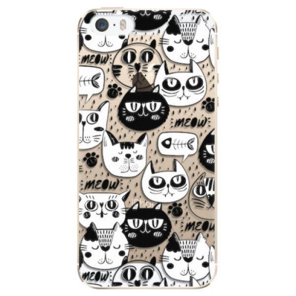 Plastové pouzdro iSaprio – Cat pattern 03 – iPhone 5/5S/SE Plastové pouzdro iSaprio – Cat pattern 03 – iPhone 5/5S/SE