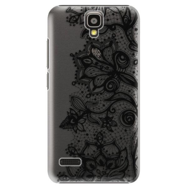 Plastové pouzdro iSaprio – Black Lace – Huawei Ascend Y5 Plastové pouzdro iSaprio – Black Lace – Huawei Ascend Y5