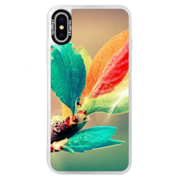 Neonové pouzdro Blue iSaprio – Autumn 02 – iPhone XS Neonové pouzdro Blue iSaprio – Autumn 02 – iPhone XS