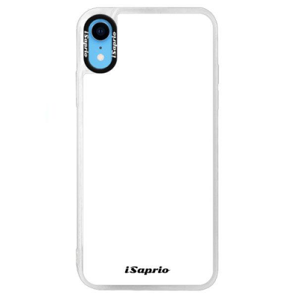 Neonové pouzdro Blue iSaprio – 4Pure – bílý – iPhone XR Neonové pouzdro Blue iSaprio – 4Pure – bílý – iPhone XR