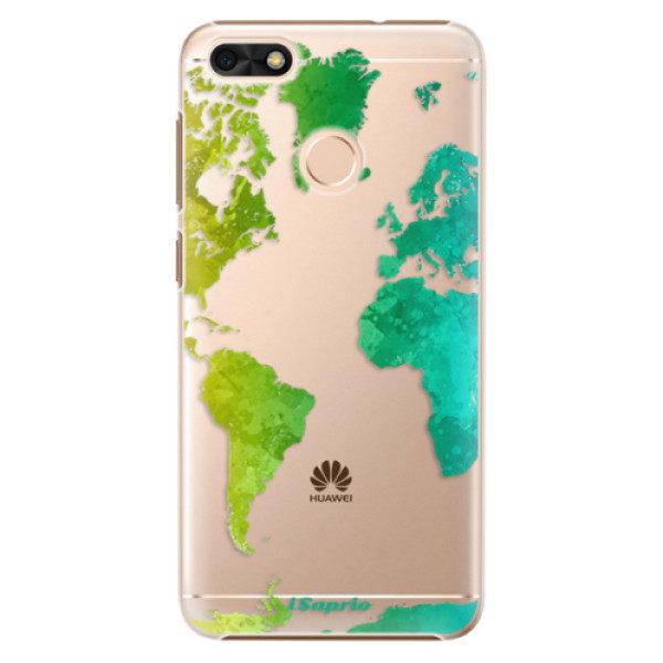 Plastové pouzdro iSaprio – Cold Map – Huawei P9 Lite Mini Plastové pouzdro iSaprio – Cold Map – Huawei P9 Lite Mini