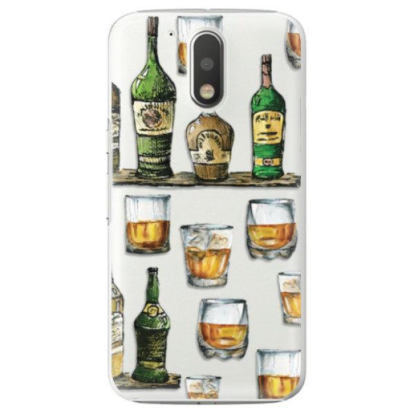 Plastové pouzdro iSaprio – Whisky pattern – Lenovo Moto G4 / G4 Plus Plastové pouzdro iSaprio – Whisky pattern – Lenovo Moto G4 / G4 Plus