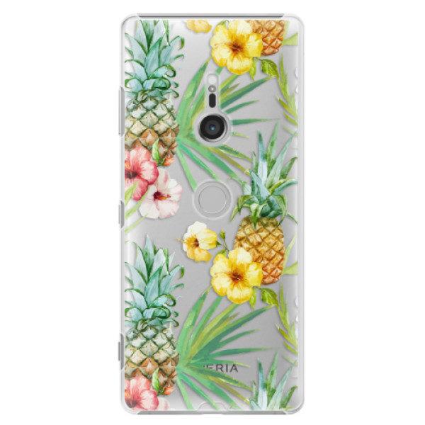 Plastové pouzdro iSaprio – Pineapple Pattern 02 – Sony Xperia XZ3 Plastové pouzdro iSaprio – Pineapple Pattern 02 – Sony Xperia XZ3