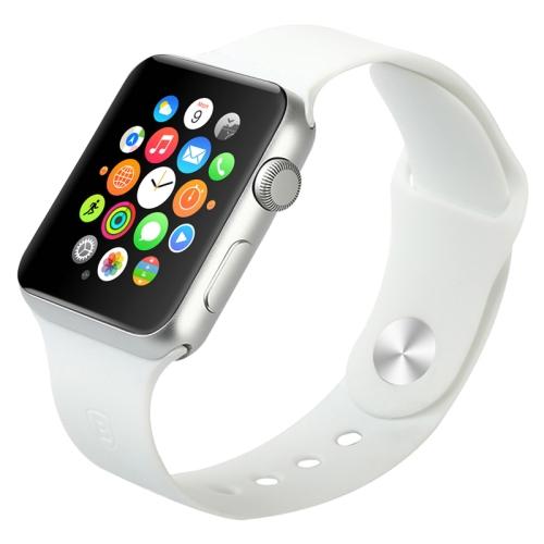 Gumový pásek / řemínek Baseus Fresh pro Apple Watch 42mm bílý Gumový pásek / řemínek Baseus Fresh pro Apple Watch 42mm bílý