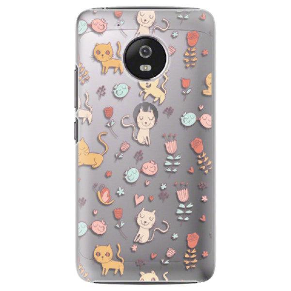 Plastové pouzdro iSaprio – Cat pattern 02 – Lenovo Moto G5 Plastové pouzdro iSaprio – Cat pattern 02 – Lenovo Moto G5