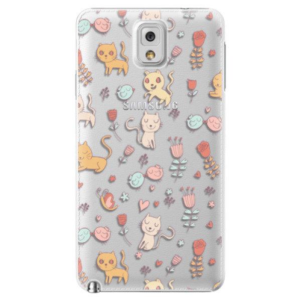 Plastové pouzdro iSaprio – Cat pattern 02 – Samsung Galaxy Note 3 Plastové pouzdro iSaprio – Cat pattern 02 – Samsung Galaxy Note 3