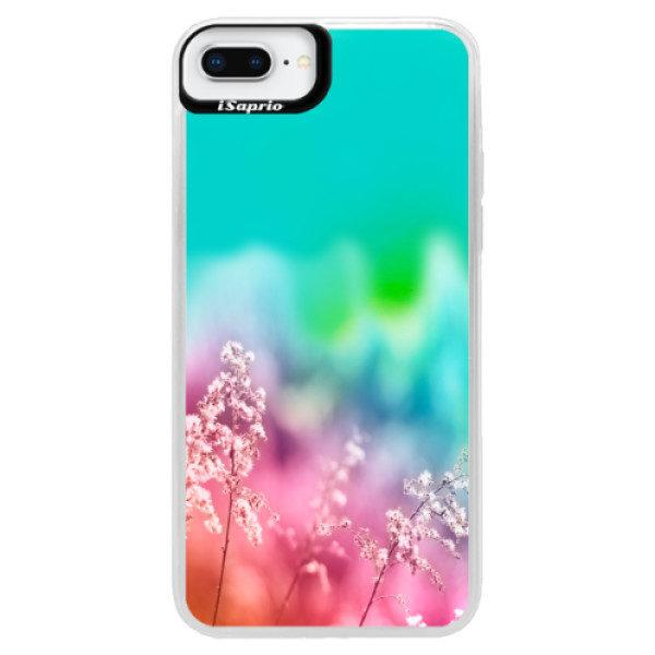 Neonové pouzdro Blue iSaprio – Rainbow Grass – iPhone 8 Plus Neonové pouzdro Blue iSaprio – Rainbow Grass – iPhone 8 Plus