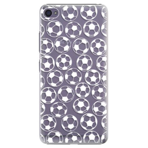 Plastové pouzdro iSaprio – Football pattern – white – Lenovo S90 Plastové pouzdro iSaprio – Football pattern – white – Lenovo S90