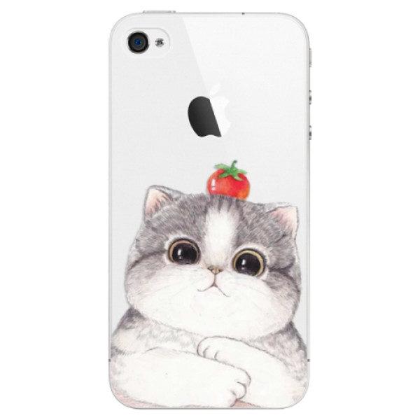 Plastové pouzdro iSaprio – Cat 03 – iPhone 4/4S Plastové pouzdro iSaprio – Cat 03 – iPhone 4/4S