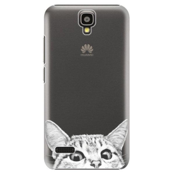 Plastové pouzdro iSaprio – Cat 02 – Huawei Ascend Y5 Plastové pouzdro iSaprio – Cat 02 – Huawei Ascend Y5