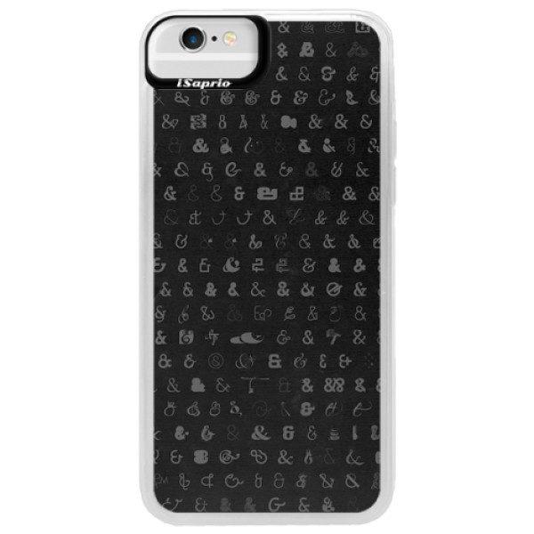 Neonové pouzdro Blue iSaprio – Ampersand 01 – iPhone 6/6S Neonové pouzdro Blue iSaprio – Ampersand 01 – iPhone 6/6S