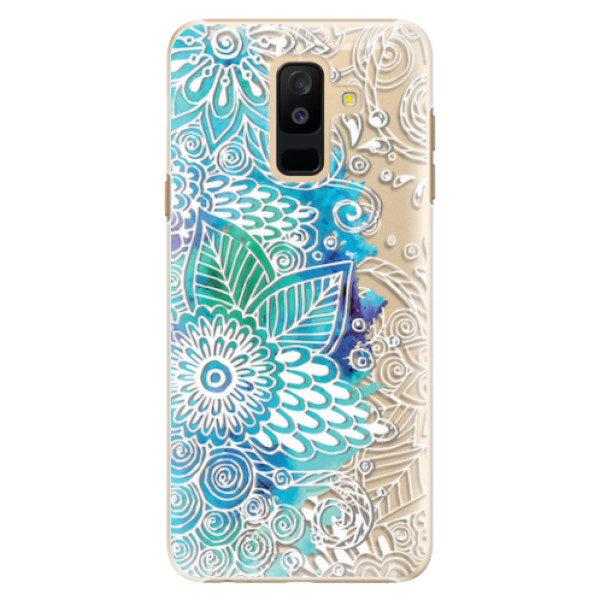 Plastové pouzdro iSaprio – Lace 03 – Samsung Galaxy A6+ Plastové pouzdro iSaprio – Lace 03 – Samsung Galaxy A6+