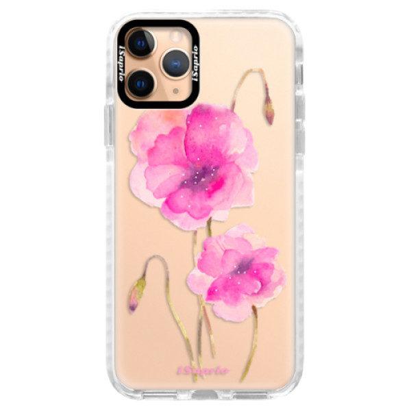 Silikonové pouzdro Bumper iSaprio – Poppies 02 – iPhone 11 Pro Silikonové pouzdro Bumper iSaprio – Poppies 02 – iPhone 11 Pro