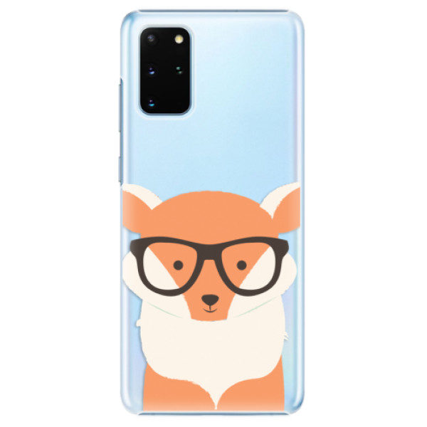 Plastové pouzdro iSaprio – Orange Fox – Samsung Galaxy S20+ Plastové pouzdro iSaprio – Orange Fox – Samsung Galaxy S20+