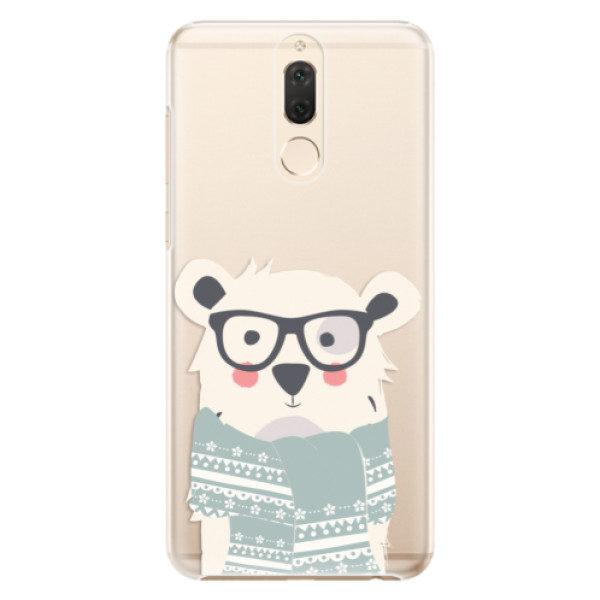 Plastové pouzdro iSaprio – Bear with Scarf – Huawei Mate 10 Lite Plastové pouzdro iSaprio – Bear with Scarf – Huawei Mate 10 Lite