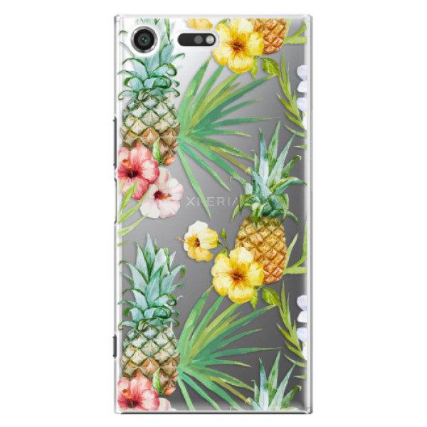 Plastové pouzdro iSaprio – Pineapple Pattern 02 – Sony Xperia XZ Premium Plastové pouzdro iSaprio – Pineapple Pattern 02 – Sony Xperia XZ Premium