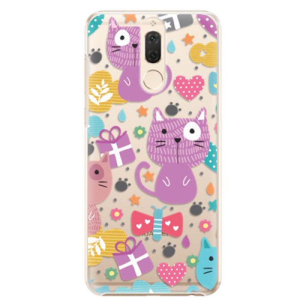 Plastové pouzdro iSaprio – Cat pattern 01 – Huawei Mate 10 Lite Plastové pouzdro iSaprio – Cat pattern 01 – Huawei Mate 10 Lite