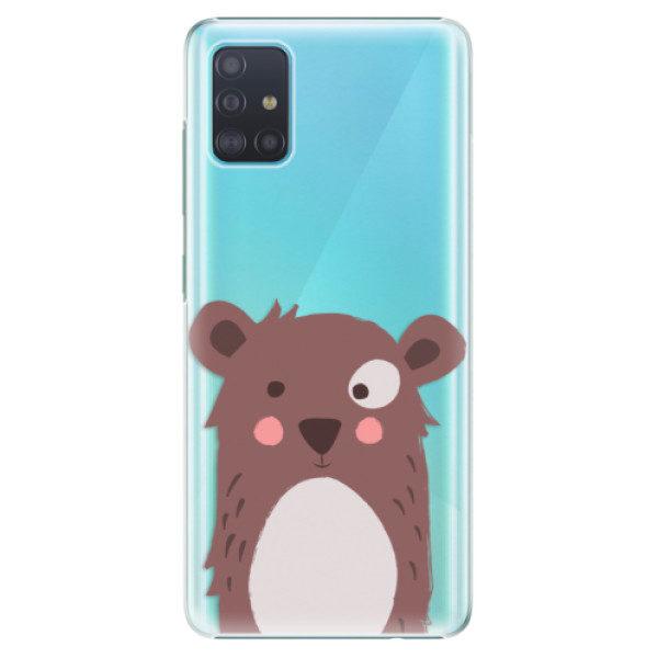 Plastové pouzdro iSaprio – Brown Bear – Samsung Galaxy A51 Plastové pouzdro iSaprio – Brown Bear – Samsung Galaxy A51