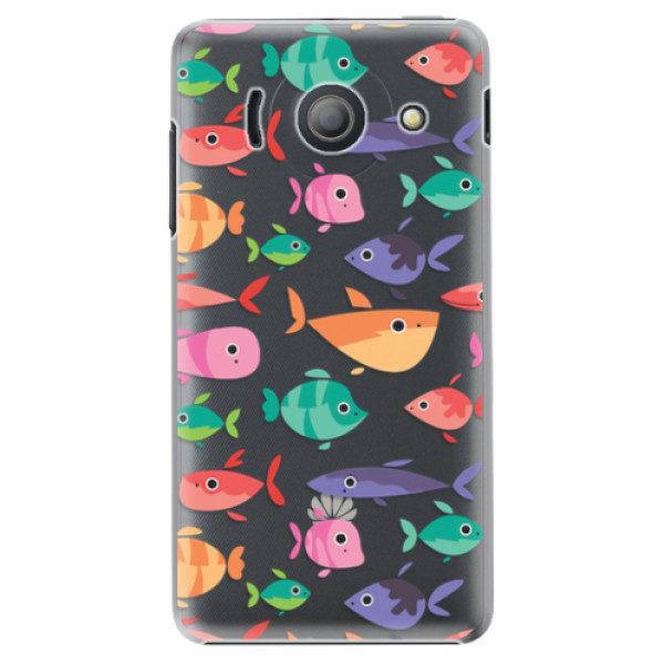 Plastové pouzdro iSaprio – Fish pattern 01 – Huawei Ascend Y300 Plastové pouzdro iSaprio – Fish pattern 01 – Huawei Ascend Y300