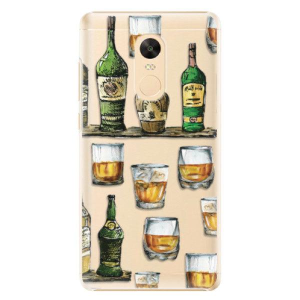 Plastové pouzdro iSaprio – Whisky pattern – Xiaomi Redmi Note 4X Plastové pouzdro iSaprio – Whisky pattern – Xiaomi Redmi Note 4X