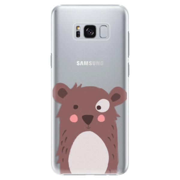 Plastové pouzdro iSaprio – Brown Bear – Samsung Galaxy S8 Plus Plastové pouzdro iSaprio – Brown Bear – Samsung Galaxy S8 Plus
