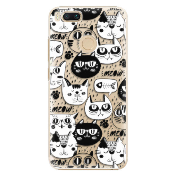 Plastové pouzdro iSaprio – Cat pattern 03 – Xiaomi Mi A1 Plastové pouzdro iSaprio – Cat pattern 03 – Xiaomi Mi A1