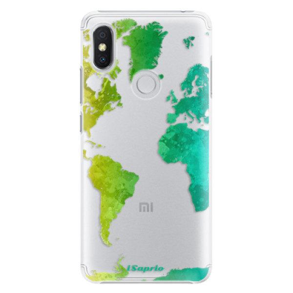 Plastové pouzdro iSaprio – Cold Map – Xiaomi Redmi S2 Plastové pouzdro iSaprio – Cold Map – Xiaomi Redmi S2