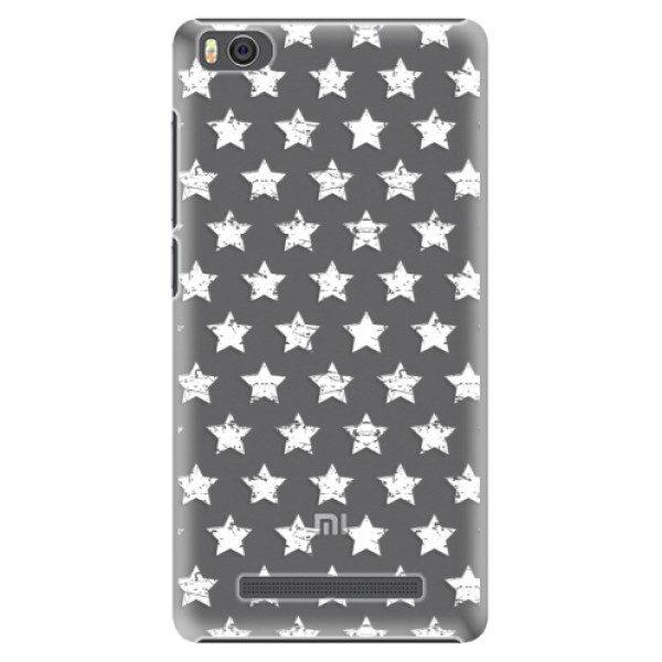 Plastové pouzdro iSaprio – Stars Pattern – white – Xiaomi Mi4C Plastové pouzdro iSaprio – Stars Pattern – white – Xiaomi Mi4C