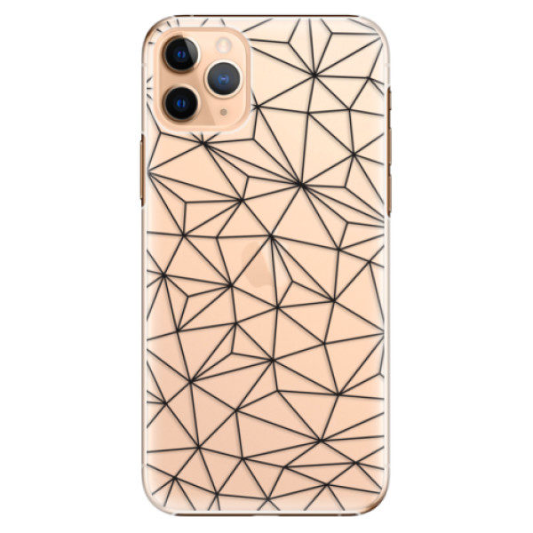 Plastové pouzdro iSaprio – Abstract Triangles 03 – black – iPhone 11 Pro Max Plastové pouzdro iSaprio – Abstract Triangles 03 – black – iPhone 11 Pro Max