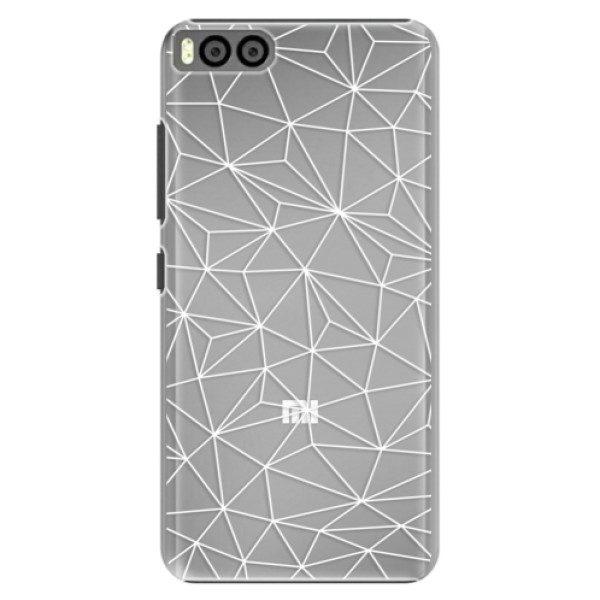 Plastové pouzdro iSaprio – Abstract Triangles 03 – white – Xiaomi Mi6 Plastové pouzdro iSaprio – Abstract Triangles 03 – white – Xiaomi Mi6