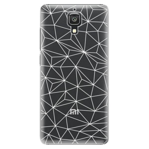 Plastové pouzdro iSaprio – Abstract Triangles 03 – white – Xiaomi Mi4 Plastové pouzdro iSaprio – Abstract Triangles 03 – white – Xiaomi Mi4